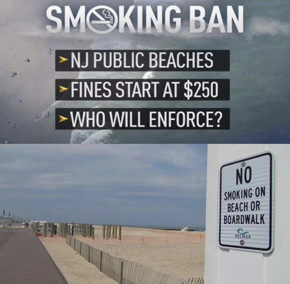 So Goodbye to Secondhand Smoke at the Beach!