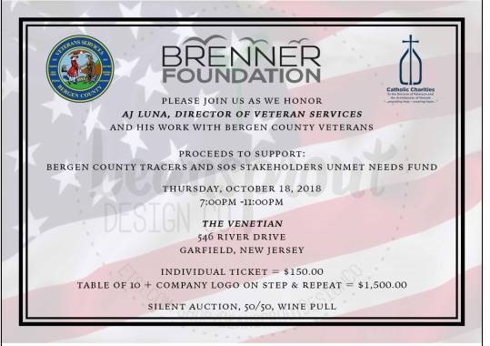 Brenner Foundation to Hold Inaugural Veteran Services Gala